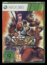 XBOX 360 SUPER STREET FIGHTER 4-Capcom-tedesco *** NUOVO ***