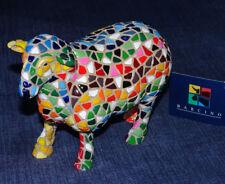BARCINO DESIGNS Mosaik Figur-/Skulptur glückliches SCHAF 11 cm AKTION 39,- € NEU