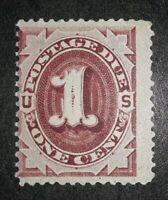 Travelstamps:1891 US Stamps Scott #J22-1cent Postage Due Mint Og MNH gum crease