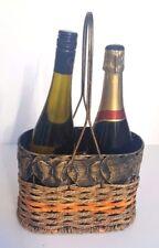 métal meuble porte bouteille vin,pour 2 bouteille,COMPTOIR supérieur Panier