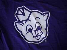 "Piggly Wiggly Royal Purple Store Logo T-Shirt ""I'm Big On The Pig"" 100% Cotton S"