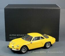Kyosho 08484Y Alpine Renault 1973 A110 1600S Yellow 1:18 Scale Diecast