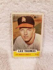 VERY RARE 1962 Bazooka Lee Thomas Card, Los Angeles Angels, VINTAGE&NICE!!