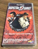 """Walt Disney """"INSPECTOR GADGET"""" with Matthew Broderick. PG Cert. VHS."""