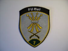 Schweizer Armee 21 Aufnäher  FU Bat 7  ca 9 x7 cm