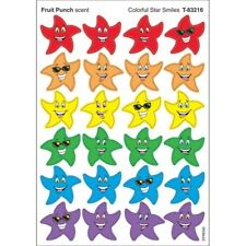 Colorful Star Smiles/Fruit Punch Stinky Stickers® – Small Trend Enterprises Inc.