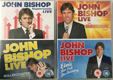 John Bishop: Live - Box of Laughs [4xDVD] New Sealed Missing Outer Slipcover
