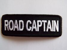 Road Captain Embroidered Sew On Biker Club patch Motorcycle Chopper