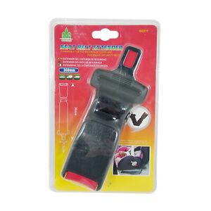 Extensor Cinturon de seguridad Alargador para coche Extensible 36 cm,MONTALIN
