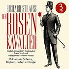 CD Richard Strauss Der Rosenkavalier 3CDs avec Herbert von Karajan