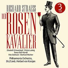 CD Richard Strauss Der Rosenkavalier 3CDs mit  Herbert von Karajan