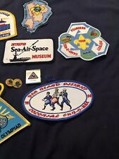 Assorted Boy Scout Badges And Pins