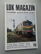LOK Magazin Eisenbahn gestern heute morgen Nr. 173 März/ April 1992