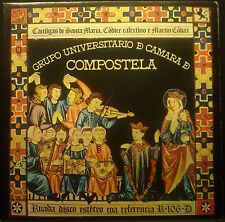 LP GRUPO NONE de CAMARA De COMPOSTELA - cantigas De santa maria, nm
