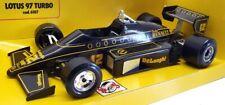 Burago 1/24 Scale Model Car 6107 - Lotus 97 Turbo A.Senna #12