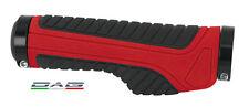 Force Coppia Manopole Ergonomica MTB Wide con blocco Red Black