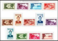 VIETNAM EMPIRE N°1/13* TB, 1951 South Vietnam #1-13  Bao Dai & Cities MH