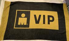 Ironman VIP Towel Triathlon Microfiber Beach Towel Bath Towel Gold and Black
