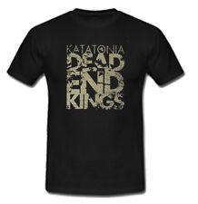 KATATONIA Dead End Kings Band T shirt Sz: S-M-L-XL-2XL Black