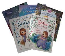 Disney Picture Book Pack Frozen Cinderella Sofia 5 Books Collection Kids New