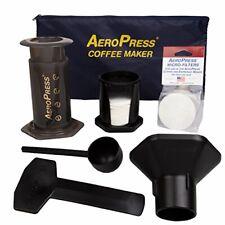 AeroPress Coffee and Espresso Maker with Tote Bag - Quickly Makes Delicious Coff