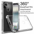 For Google Pixel 3a /XL 2 XL Airbag Shockproof Crystal Soft Case Rubber Cover