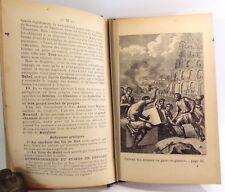 Abbé Jaud. Histoire sainte en leçons et en images 1909, bel exemplaire
