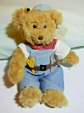 Nwt Russ Bear From Bears From The Past Carpenter Bear Item Nlo10 11 Inch Rare