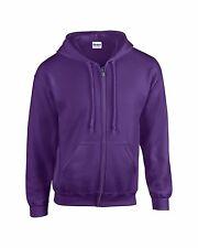 Gildan Mens HeavyBlend Full Zip Hooded Sweatshirt Hoodie Hoddy Jumper
