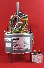 D919 Fasco 1075 RPM AC Air Conditioner Condenser Fan Motor 1/8 HP + Capacitor