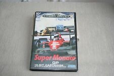 Super Monaco GP Sega Mega Drive Game USED