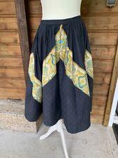 Superbe et ancienne jupe provençale griffée Charles Deméry Soleiado Avignon