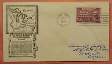 DR WHO 1937 FDC NORTHWEST TERRITORY ANDERSON CACHET 149816