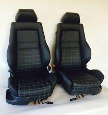 VW GOLF 3 GTI Edition Golf 3 4 Cabrio Recaro sedili in pelle POLO PASSAT Pelle