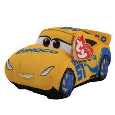 TY Disney / Pixar Cars 3 Beanie Babies Cruz Ramirez Plush MWMT's w/ Heart Tags