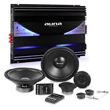 Auna Set Tuning Auto Kit Éclaté Enceintes & Amplificateur 6 canaux 570w RMS