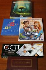 Abstract Strategy Board Games: Hnefatafl+Octi+Santorini+Latice+Photosynthesis
