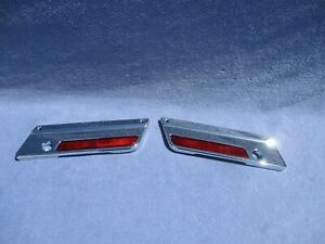 Harley touring electra glide road king fltr saddlebag latches cover face plates