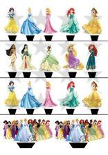 Princesses Cake Toppers & Cupcake Picks