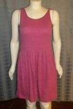 "Size Lg 12/14 George purple textured sleeveless dress Chest 42"" X length 38"""