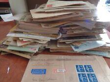 Karton Briefposten,Ganzsachen D.R.,viel Inflation nicht alles wurde abgebildet