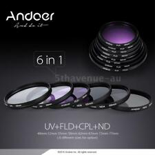 Andoer 67mm UV+CPL+FLD+ND(248) Lens Filter Kit FULL Accessories for DSLR Cameras