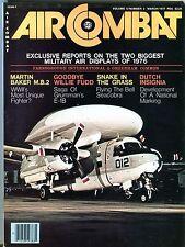 Air Combat Magazine March 1977 Martin Baker M.B.2 EX No ML 112316jhe