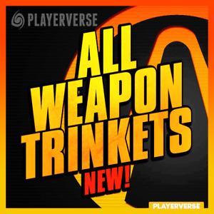 【Modded + DLC】💢 Borderlands 3 - All Weapon Trinket Skins 💢【Xbox/PS4/PC】