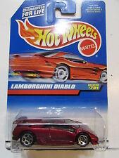 HOT WHEELS 1998  LAMBORGHINI DIABLO #781