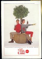 Coca Cola Advertisement - Vintage Apr 1964 Coke Soda Pop Tree Planters Print Ad