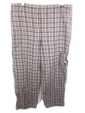 Disney Direct | Red/Grey/White Soft Pajamas | Men's (Size: Medium 34-36)