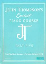 John Thompson's más fácil Piano Curso parte cinco