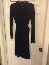 Marc O'Polo Black Long Sleeve belted Women's Dress Size S