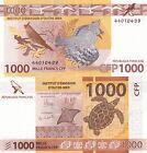 FRANCE PACIFIQUE 1000 FF UNC CFP POLYNESIE TAHITI N-CALEDONIE Outre Mer + GUIDE